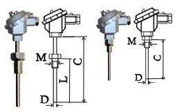 PT100铂热电阻价格 温度传感器厂家 热电阻PT100选型 安装